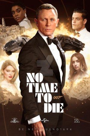 სიკვდილის დრო არ არის / No Time to Die / 007 / jeims bondi 2021